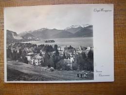 """Lago Maggiore , Strésa , Borromeo """""""" Carte Animée """""""" Beau Timbre """""""" - Italia"""