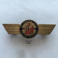 Badge (Pin) ZN002416 - Truck (Lastkraftwagen / Kamion) / Autobus Transport Velika Kladusa AC - Trasporti