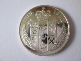 NIUE 5 DOLLARS 1992 SILVER UNC,FIRST MOON LANDING/MAN IN MOON - Stati Uniti