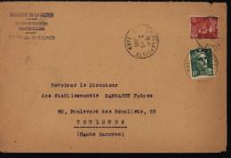 Guerre 39-45 CSS Centre Séjour Surveillé St Sulpice La Pointe Internement Résistants Puis Collaborateurs CAD 2/3/1948 - Guerra De 1939-45
