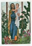 CHRISTIANITY - AK279479 Wigratzbad - Herz-Jesu- Und Maria Sühnekirche - Hl. Joseph - Saints