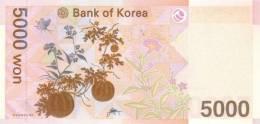 KOREA SOUTH P. 55a 5000 W 2006 UNC - Corée Du Sud