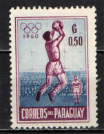 PARAGUAY - 1960 - OLIMPIADI DI ROMA - USATO - Paraguay