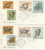 SAN MARINO - FDC ROMA 1971 - ARTE ETRUSCA - FDC