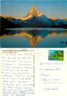 Matterhorn, VS Valais, Switzerland Postcard Posted 1989 Stamp - VS Valais
