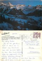 Les Diablerets, VD Vaud, Switzerland Postcard Posted 1982 Stamp - VD Vaud