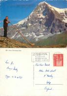 Alpenhorn, Kleine Scheidegg, BE Bern, Switzerland Postcard Posted 1967 Stamp - BE Berne