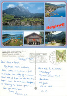Hergiswil Am See, NW Nidwalden, Switzerland Postcard Posted 1995 Stamp - NW Nidwald