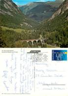 Railway Train, Albulabahn, GR Graubünden, Switzerland Postcard Posted 1995 Stamp - GR Grisons