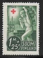 Finland, Scott # B65 Unused No Gum Mason, 1945 - Finland
