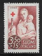 Finland, Scott # B67 Unused No Gum Mother And Child, 1945 - Finland