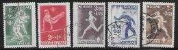 Finland, Scott # B69-73 Unused No Gum Sports, 1945 - Finland
