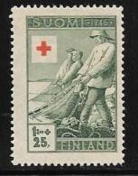 Finland, Scott # B74 MNH Fishing, 1946 - Finland