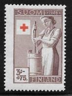 Finland, Scott # B75 MNH Churning, 1946 - Finland