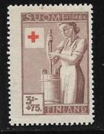 Finland, Scott # B75 Mint Hinged Churning, 1946 - Finland