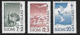 Finland, Scott # B107-9 MNH Tuberculosis Prevention, 1951 - Finland