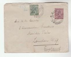 1930 Ferozepur INDIA GV Stamps COVER To GB - India (...-1947)