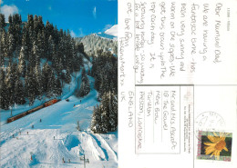 Railway Train, Villars-sur-Ollon, VD Vaud, Switzerland Postcard Posted 2006 Stamp - VD Vaud