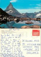 Matterhorn, VS Valais, Switzerland Postcard Posted 1973 Stamp - VS Valais