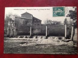 84 SORGUES Barrage De L'Usine De La Grange Des Roues - Sorgues