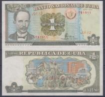 1995-BK-3 CUBA 1$ JOSE MARTI. EMISION DEL PERIODO ESPECIAL. 1995 UNC PLANCHA - Cuba