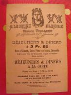 Buvard Restaurant à La Reine Blanche Vidalenc Bd St Germain Paris. Vers 1900