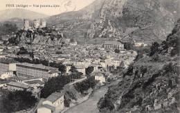CPA 09 FOIX VUE PANORAMIQUE - Foix