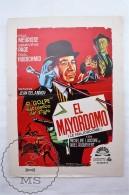 Original 1965 Cinema/ Movie Promotional Image - Le Majordome, Actors: Micheline Luccioni & Noel Roquevert - Publicidad