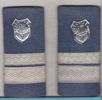 Romania - Republic - Police Epaulettes - Police & Gendarmerie