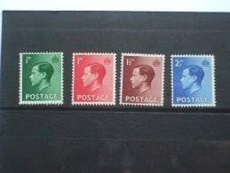 GB EDWARD VIII DEFINITIVE SET MNH - 1902-1951 (Kings)
