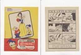 Publicite - Protege-Cahiers - MOUTARDE GREY-POUPON - Buvards, Protège-cahiers Illustrés