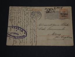 BELGIQUE - Entier Postal De Bruxelles Pour La France En 1917 - A Voir - L 1613 - German Occupation