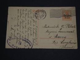 BELGIQUE - Entier Postal De Bruxelles Pour La France En 1918 - A Voir - L 1614 - German Occupation