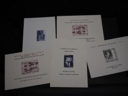 MONACO - Lot De 5 épreuves Souvenir - A Voir - L 1622 - Collections, Lots & Séries
