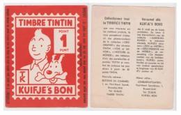 Timbbre Tintin Géant 1950-60 - Non Classificati