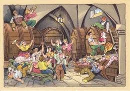 CARTES POSTALES BARE DAYEZ  Fête Des Vendanges  N°1557 A Et B - Contemporain (à Partir De 1950)