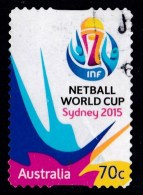 Australia 2015 Netball World Cup 70c Self-adhesive Used - - Used Stamps
