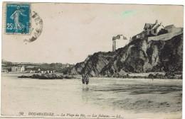 CPA - 29 - DOUARNENEZ - La Plage Du Ris - Les Falaises - - Tréboul