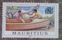 MAURICE - YT N°891 - Petits Métiers / Constructeur D'embarcations - 1997 - Neuf - Maurice (1968-...)
