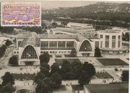 D25270 CARTE MAXIMUM CARD 1959 CZECHOSLOVAKIA - BRNO INTERNATIONAL FAIR CP ORIGINAL - Architecture