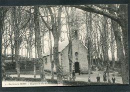 CPA - Environs De Brest - Chapelle De Ste ANNE DU PORTZIC, Animé - Brest