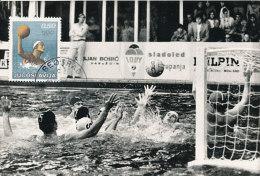 D25277 CARTE MAXIMUM CARD RR 1972 YUGOSLAVIA - WATERPOLO OLYMPICS CP PHOTOCARD