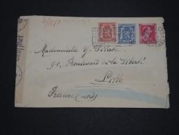 BELGIQUE - Enveloppe De Bruxelles Pour La France En 1943 Avec Contrôle Postal - A Voir - L 1664 - Belgium