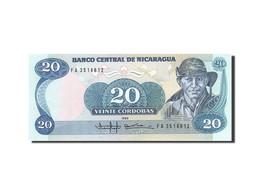 Nicaragua, 20 Cordobas, 1985-1988, 1985, KM:152, SPL - Nicaragua