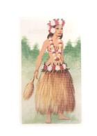 Cromos: Trajes Tipicos De Todo El Mundo Numero 213: Moorea (Tahiti) - Kaufmanns- Und Zigarettenbilder