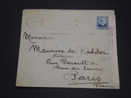 ESPAGNE - Censure De Barcelone Sur Enveloppe Pour La France En 1936- A Voir - L 1675 - Republikanische Zensur