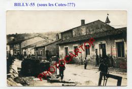 BILLY SOUS LES COTES-CARTE PHOTO Allemande-Guerre 14-18-1 WK-France-55- - Francia
