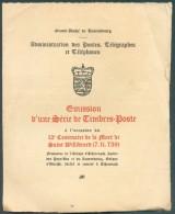 1938 Emission Du 12e Centrenaire De La Mort De Saint Willibrord, Obl; Dc ECHTERNACH Pentecôte 1938 - 11378 - Maximum Cards
