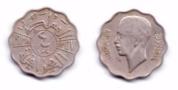 Iraq 4 Fils 1938 I King Ghazi I - Iraq