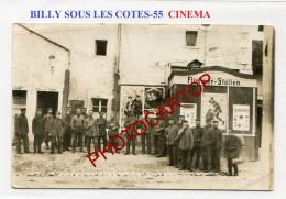 BILLY SOUS LES COTES-CINEMA-Affiches-Spectacle-CARTE PHOTO Allemande-Guerre 14-18-1 WK-France-55-Feldpost- - Frankreich